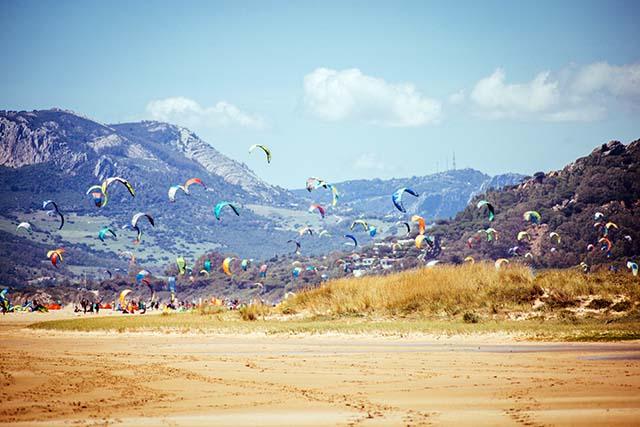 Kitesurfen in Tarifa, Kiteschulen, Kitekurse