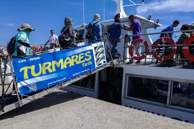 La empresa Turmares ofrece la posibilidad de avistar cetáceos y ballenas en Tarifa. Si eres amante de los animales y la vida salvaje, te recomendamos que te unas a alguno de estos avistamientos. ¡Querrás repetir!