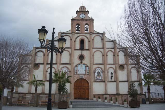 Iglesia Santa María del Valle en Alcalá del Valle