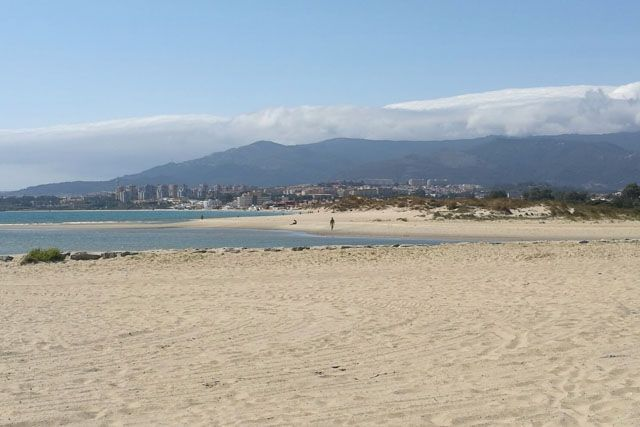 Palmones beach is great for spending some peaceful time on the sand.