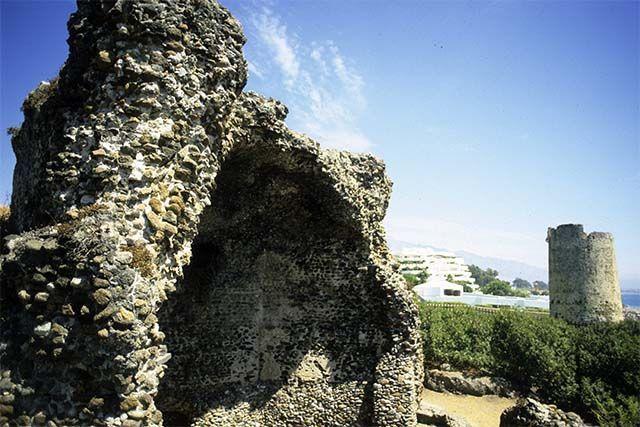 parte de las termas de San Pedro de Alcantara
