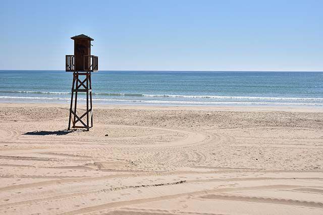 torre vigilancia playa barbate